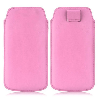 WOW PU Leather Pull Tab Protective Pouch For LG Optimus Net Dual Sim P698