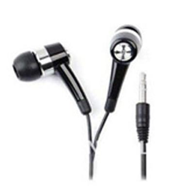 Enter Earphones For All Mobile Phones In The Ear (Black)