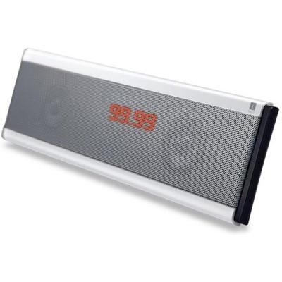 IBall Blu-Fi X7 Wireless Mobile/Tablet Speaker (Silver)