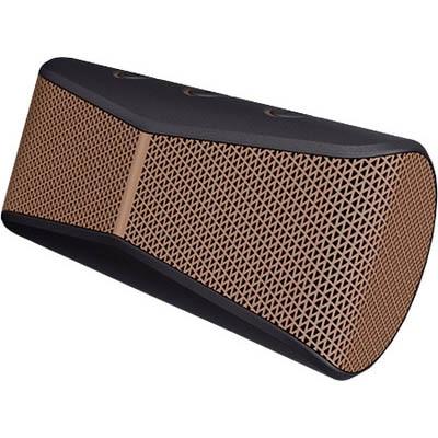 Logitech X300 Laptop/Desktop Speaker (Black & Brown)