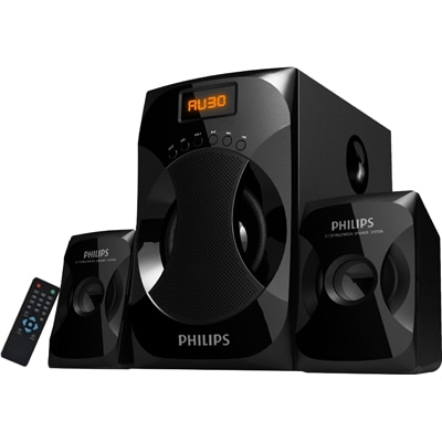Philips Explode MMS4040F Multimedia Speaker (Black)