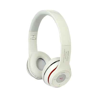 Power Ace Wireless On-the-ear Headphone (White)