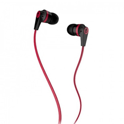 Skullcandy INKD 2 Wired In Ear Earphones With Mic (Red & Black)