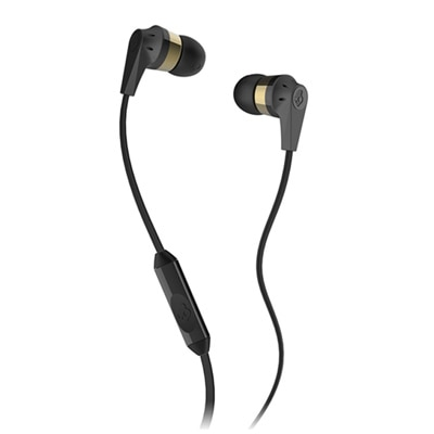 Skullcandy INKD S2IKDY-144 In Ear Earphones With Mic (Gold)