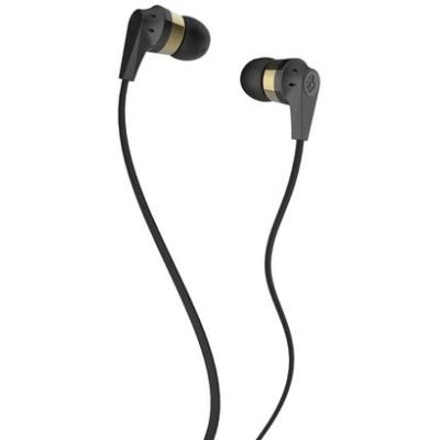 Skullcandy S2IKDZ-144 Wired In Ear Headphone (Black & Gold)
