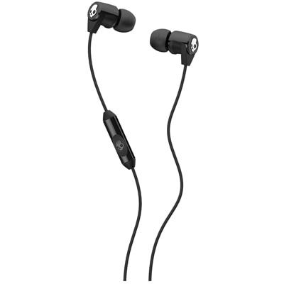 Skullcandy SCS2RFDA-003 Wired In Ear Earphones (Black)