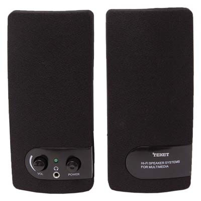 Texet SP01 Desktop Speaker (Black)