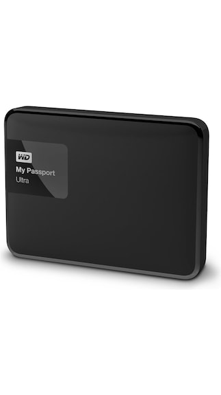 WD My Passport Ultra (WDBBKD0020BBK) 2 TB Poratble External Hard Drive (Black)