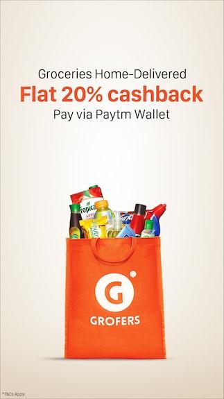 Get 20% cashback @ Grofers