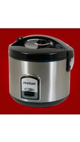 Euroline ELRC10DXB 1 Ltr Rice Cooker (Black)