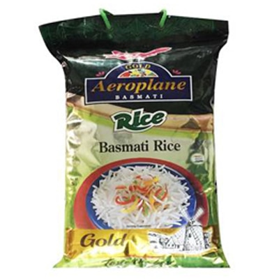 Aeroplane Rice Gold Basmati Rice ( 20 Pack Of 1 Kg Each)
