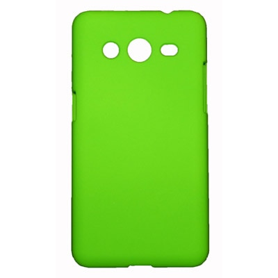 FCS Back Cover For Samsung Core 2 (Green)