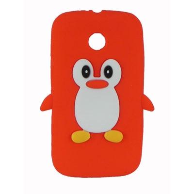 FCS Back Cover For Motorola Moto E (Red) - 5312433