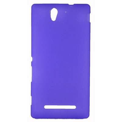 FCS Back Cover For Sony Xperia C3 (Purple)