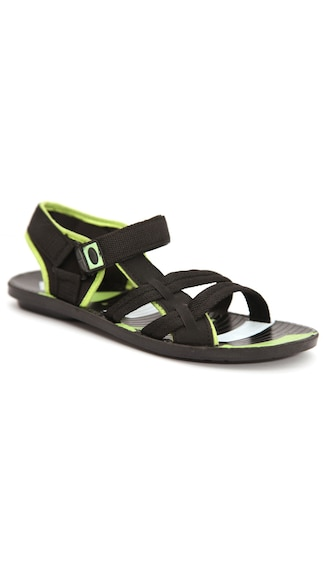 Rockstar Stylish Green Sandals (Size-8)