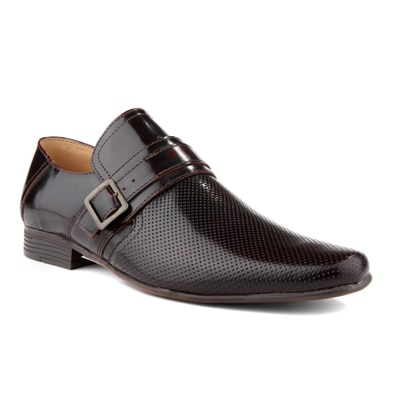 Red Tape Brown Formal Slipons Shoes