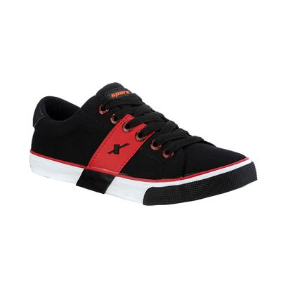 Sparx Black And Red Casual Shoes