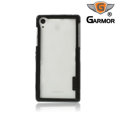 Garmor Shockproof Bumper Case For Sony Xperia Z2 (Black)