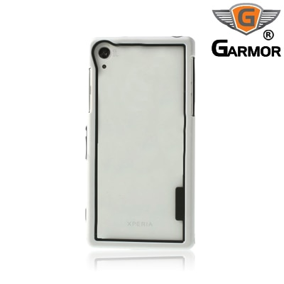 Garmor Shockproof Bumper Case For Sony Xperia Z2 (White)