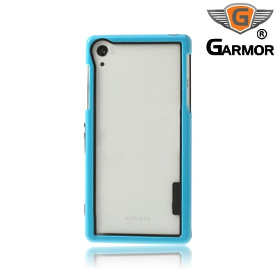 Garmor Shockproof Bumper Case For Sony Xperia Z2 (Blue)