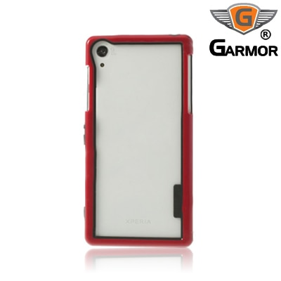 Garmor Shockproof Bumper Case For Sony Xperia Z2 (Red)