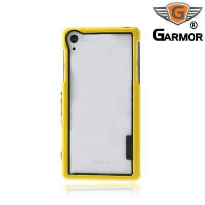 Garmor Shockproof Bumper Case For Sony Xperia Z2 (Yellow)