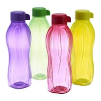 Tupperware Aquasafe Bottles- 1L (Set Of 4)