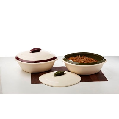 Signoraware Double Wall Casserole With Lid (Jumbo) 2.5L