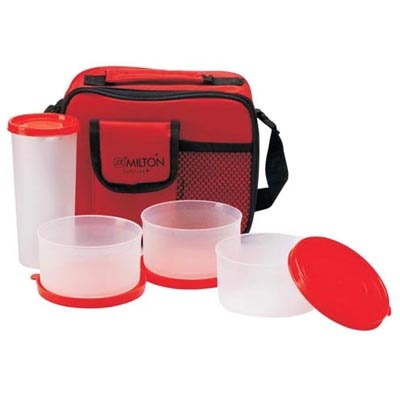 Milton Meal Combi Lunch Box Red