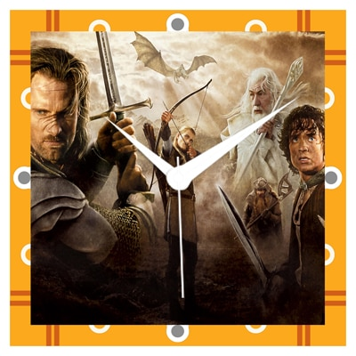 Shopkeeda The Lord Of The Rings Wall Clock