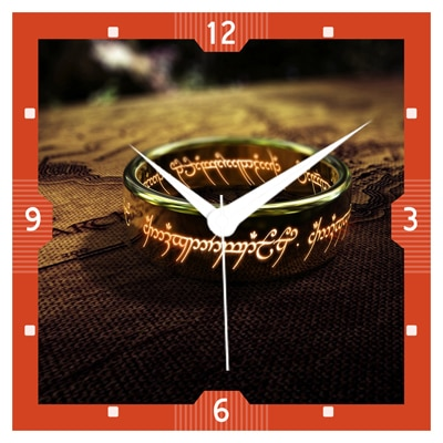 Shopkeeda Lord Of The Rings Wall Clock