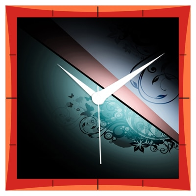 Shopkeeda Flash Light On Cool Design Wall Clock