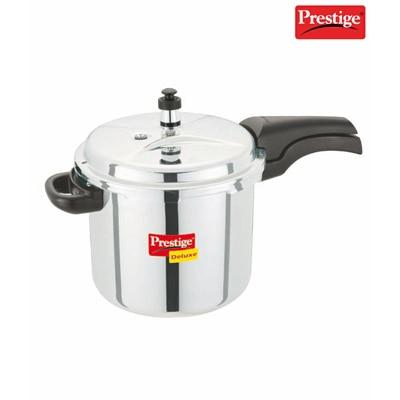 Prestige Deluxe 5 Ltrs Stainless Steel Cooker - 4383347