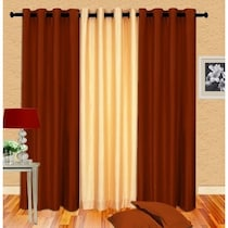 Plain SO3 Window Curtain Set of 3