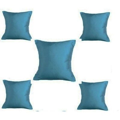 Purple Oyster Trendy Cushion Cover Blue Set Of 5