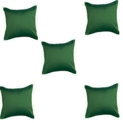 Purple Oyster Trendy Cushion Cover Green Set Of 5