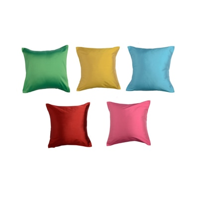 Purple Oyster Trendy Cushion Cover Multicolor Set Of 5