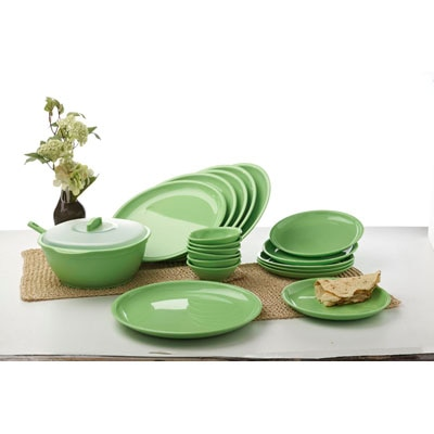 Signoraware Dinner Set Round (21 Pcs)