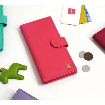 Home Smart Crown Zip Smart Wallet