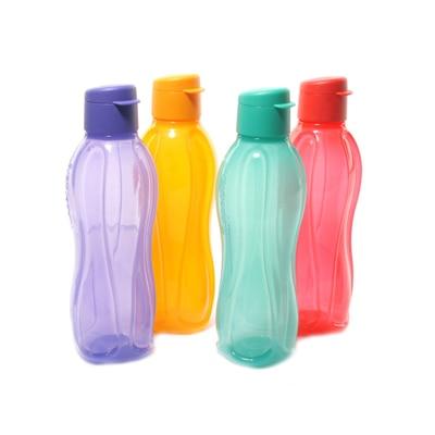 Tupperware Set Of 4 Fliptop Water Bottles (750 Ml)