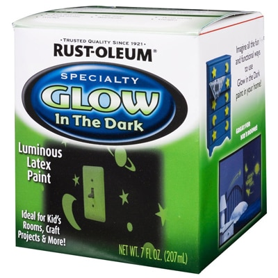 Rust-Oleum Specialty Glow In The Dark Luminious Latex Paint