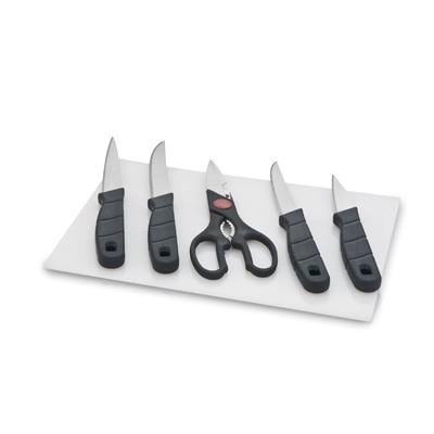 Mahavir 6 Pc Kitchen Knife Set With Chopping Board