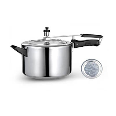 Retro Kitchen Ware Induction Base Inner Lid Pressure Cooker (3 Litres)