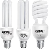 Eveready CFL BHK Combo - 15W + 20W + 27W