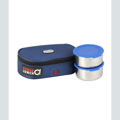Ecoline Blue Electric Lunch Box