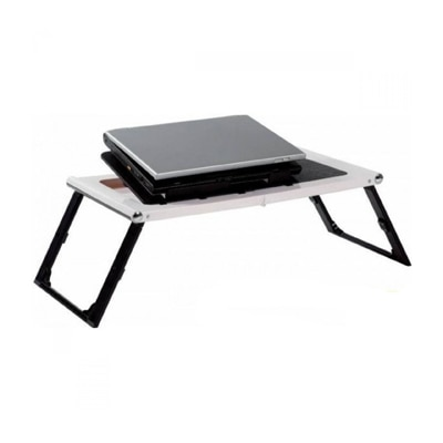 Unique Dealz Super Strong Portable Laptop E-Table With USB Cooling Fan
