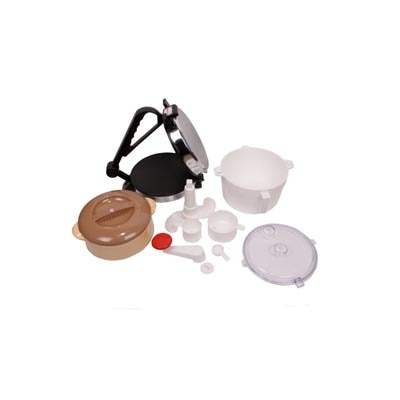 Masanima Roti And Chapati Maker With Dough Maker And Casserole