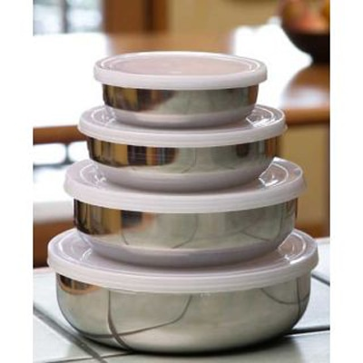 AAA Set Of 4 Steel Containers From Isteel