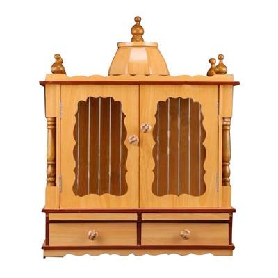 Aarambh Wooden Temple With Doors