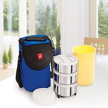 Cello Fun N Food 3 Container Assorted Lunch Box Set